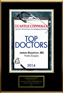 Dr. James Boynton, Top Docs 2014
